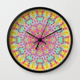 CANDY MANDALA Wall Clock
