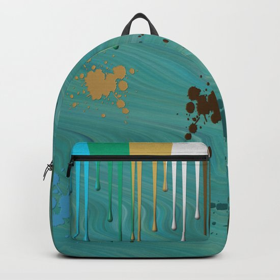 Messy Painter Backpack