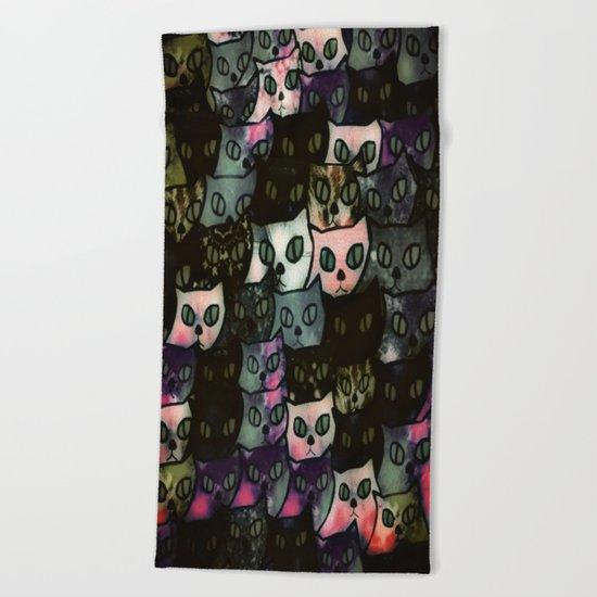 cat-115 Beach Towel