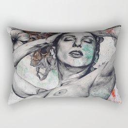 Remembering Days Of Yore: Wine Rectangular Pillow