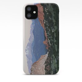Sunrise at Garden of the Gods and Pikes Peak iPhone Case