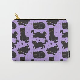 Little Black Cats Carry-All Pouch