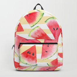 Watercolor Watermelon Backpack