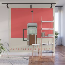Cafetière à Piston (French Press) Wall Mural