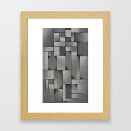 Theo van Doesburg - Composition in Gray - Rag-Time - Abstract De Stijl Painting Framed Art Print
