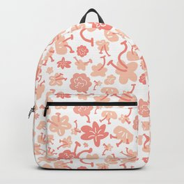 Light&Line: Baby pink flower illustrated pattern that perfectly matches with kids clothes, interior Backpack