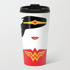 Wonder Girl Metal Travel Mug
