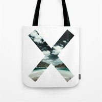 the xx Tote Bags featuring XX  by Adrian Lungu