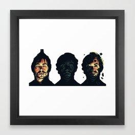see? Framed Art Print