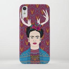 DEER FRIDA iPhone Case