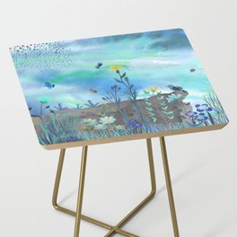 Blue Garden I Side Table