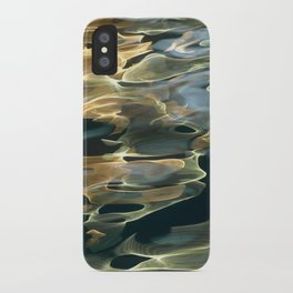 Water / H2O #42 (Water Abstract) iPhone Case