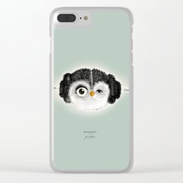 """""""May the Force be with you."""" (Princess Leia 1977) Clear iPhone Case"""