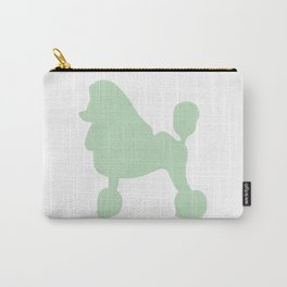 Poodle wall art print Carry-All Pouch