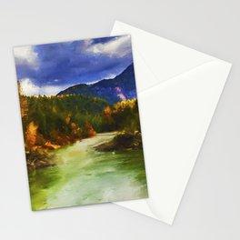 Montana, Mountain Panorama Stationery Cards