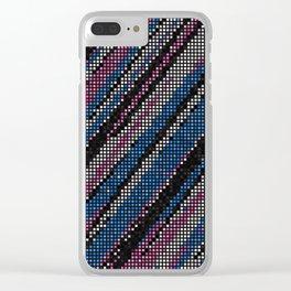 beveled edge Clear iPhone Case