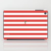 waldo iPad Cases featuring Dude.. I'm right here by Adel
