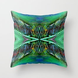 Textures Eye (view 4) Throw Pillow