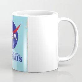 ARTEMIS NASA space art logo. Coffee Mug