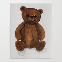 Stare bear. Poster
