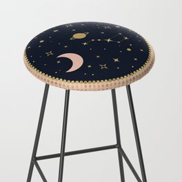 Love in Space Bar Stool