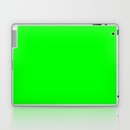 Solid Bright Green Neon Color Laptop & iPad Skin