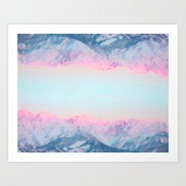 Highlands Sunrise Art Print