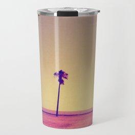 Four Palms In Paradise Travel Mug