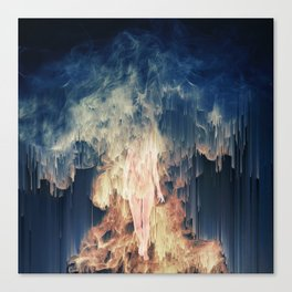 ascension and descent Canvas Print