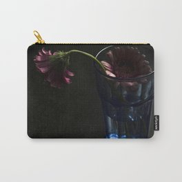 Blooming Gerbera Flower Carry-All Pouch