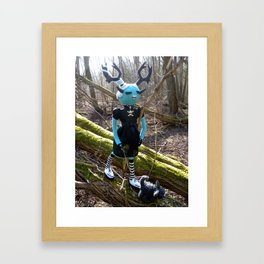 Brunhilde & Little Geoff Framed Art Print