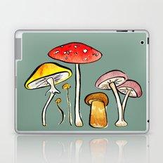Woodland Mushrooms Laptop & iPad Skin
