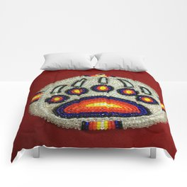 Beaded Bear Track Comforters
