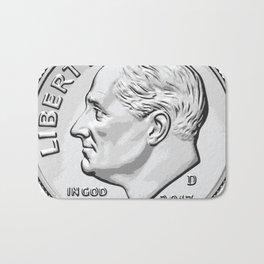 Franklin Delano Roosevelt Bath Mat