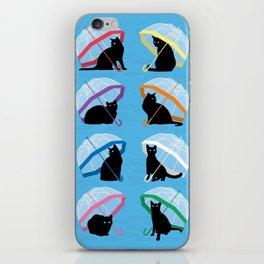 raining cats 'n cats iPhone Skin