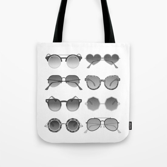 Sunglasses Collection – Black Palette Tote Bag