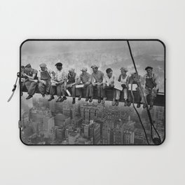 Lunch atop a Skyscraper Laptop Sleeve