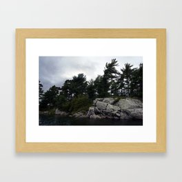 Pointe Au Baril Framed Art Print