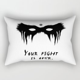 Your Fight Is Over (English) Rectangular Pillow