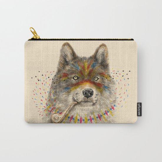 Cherokee Wolf Carry-All Pouch