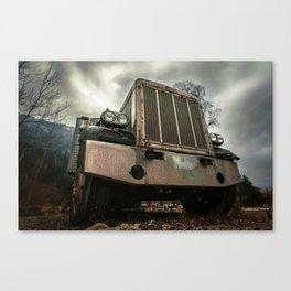 Rusty Warrior Canvas Print