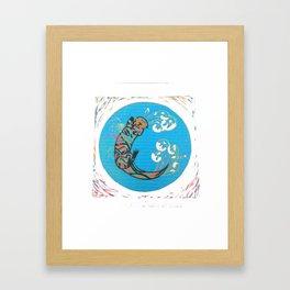C-Otter Framed Art Print