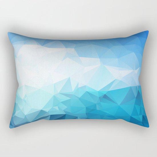 Sky and sea  Rectangular Pillow