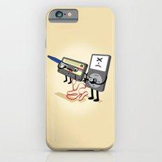 Killer Ipod Clipart (Murder of Retro Cassette Tape) iPhone 6s Slim Case