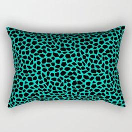 Berlin Boombox Animal Pattern Rectangular Pillow