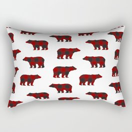 Lumberjack Bears Rectangular Pillow
