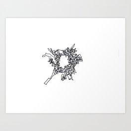 BOOM Ink2 Art Print