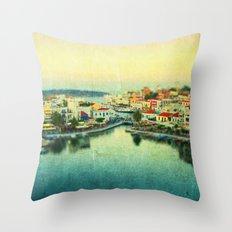 Agios Nikolaos Throw Pillow