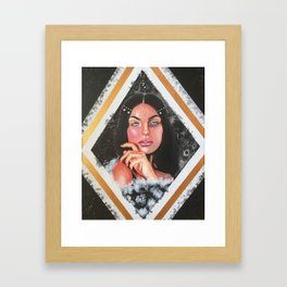 Harmoniously Dissonant Framed Art Print
