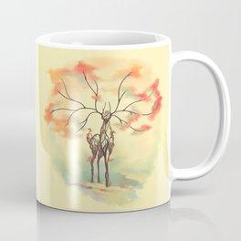 Essence of Nature - A Deer's Echo Coffee Mug